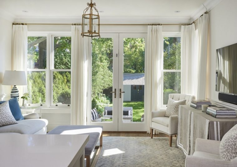 White French Doors - Metal Clad Wood